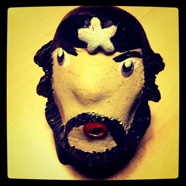 The decapitated Che