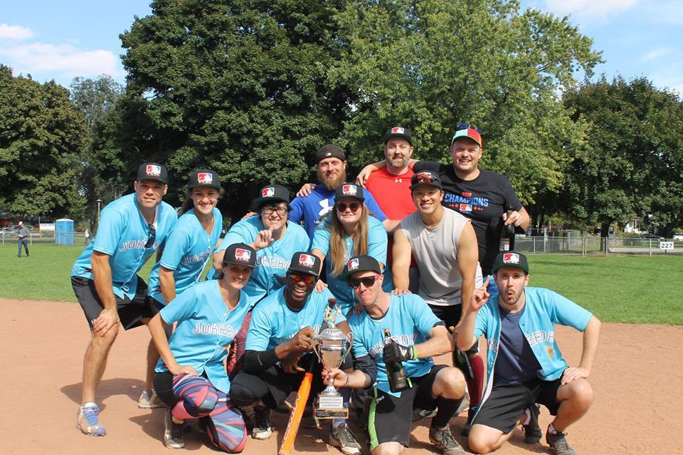 Jokebox Comedy Softball Team